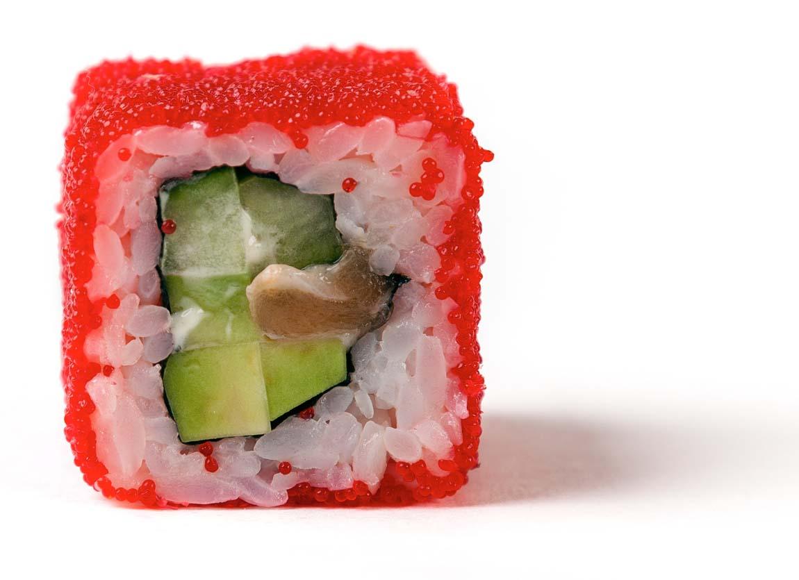 Икра летучей рыбы - фото, калорийность, чем заменить в блюдах