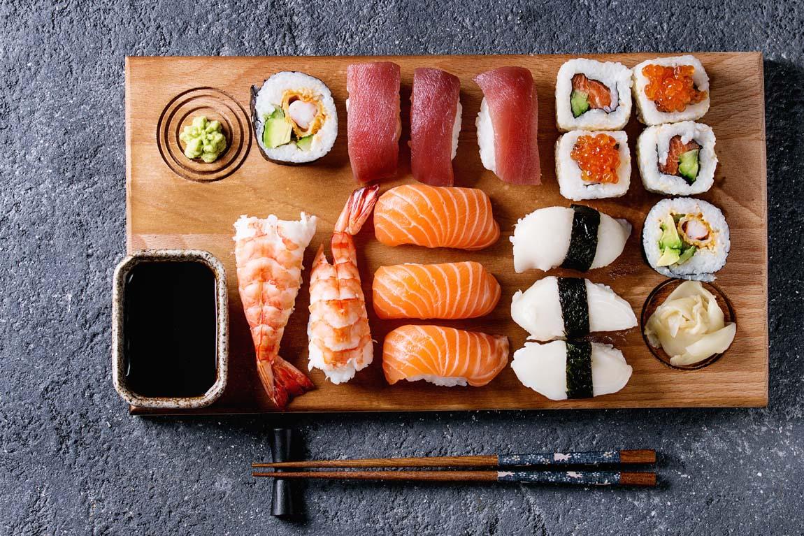 Какая начинка подойдет для суши?