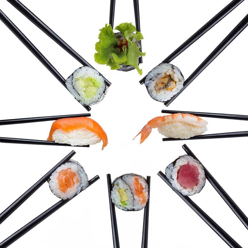Японские, корейские, китайские палочки для еды