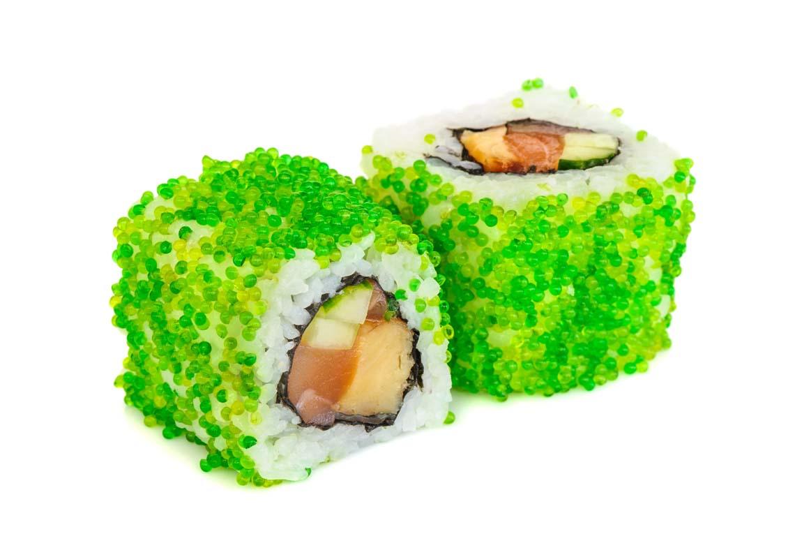 Что такое тобико в роллах и в суши