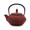 Чугунный чайник 450мл вишневый