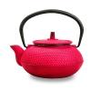 Чугунный чайник 550мл вишневый