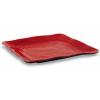 Тарелка квадратная Юки 28 (Black & Red)