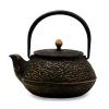 Чугунный чайник 700мл золотой