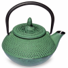 Чугунный чайник 450мл зеленый
